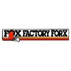 【HollyEquip】FOX Factory Forx 前叉貼紙