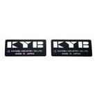 【HollyEquip】KYB  避震器用鋁貼紙(方形)(PR)