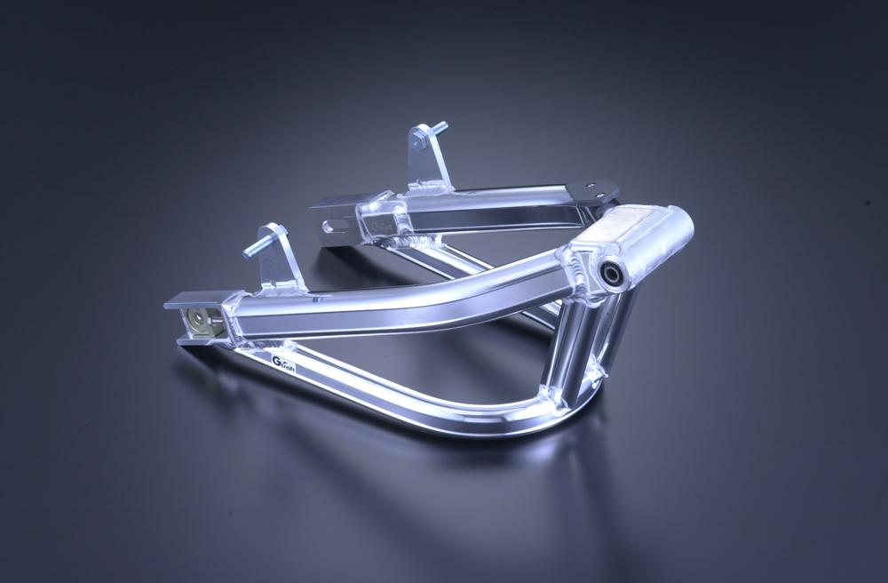 DAX專用多角型雙避震後搖臂 (附平衡支架) 加長12cm