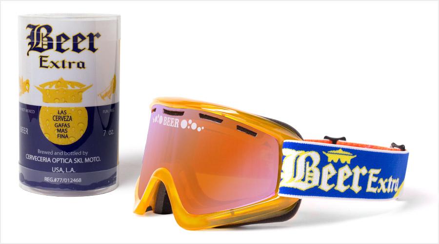 【EKS (X) Brand】『ICE COLD BEER』限定 越野風鏡 CERVEZA - 「Webike-摩托百貨」