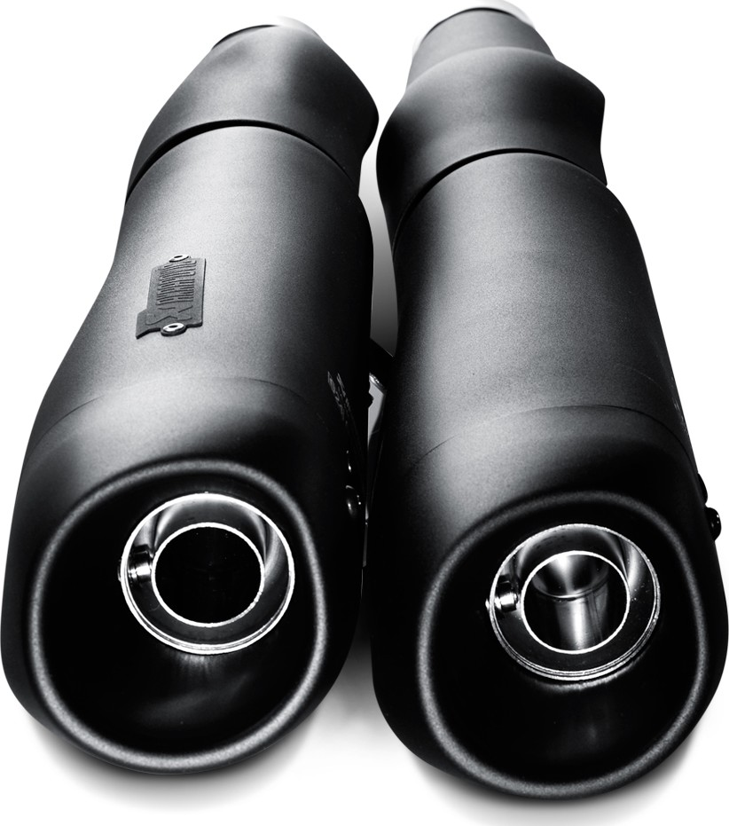 【AKRAPOVIC】e1型式 黑色排氣管尾段 - 「Webike-摩托百貨」