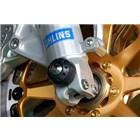 【MOTO CORSE】前輪軸保護滑塊(防倒球)&鈦合金螺絲