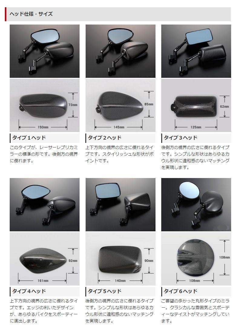 【Magical Racing】NK1後視鏡(平織碳纖維) - 「Webike-摩托百貨」