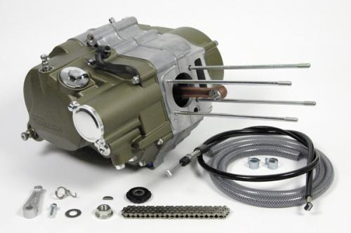 SCUT 138cc用曲軸箱套件