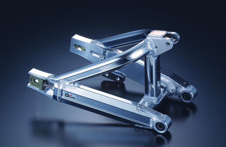 XR50/CRF50用MONO SHOCK多角型後搖臂 加長8cm