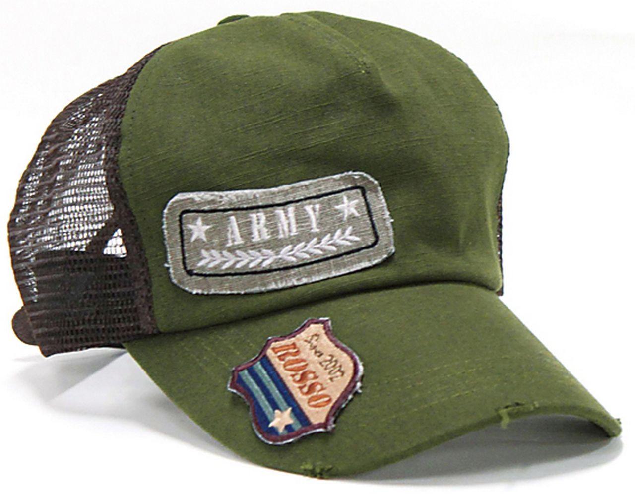【Rosso StyleLab】軍徽網帽 - 「Webike-摩托百貨」