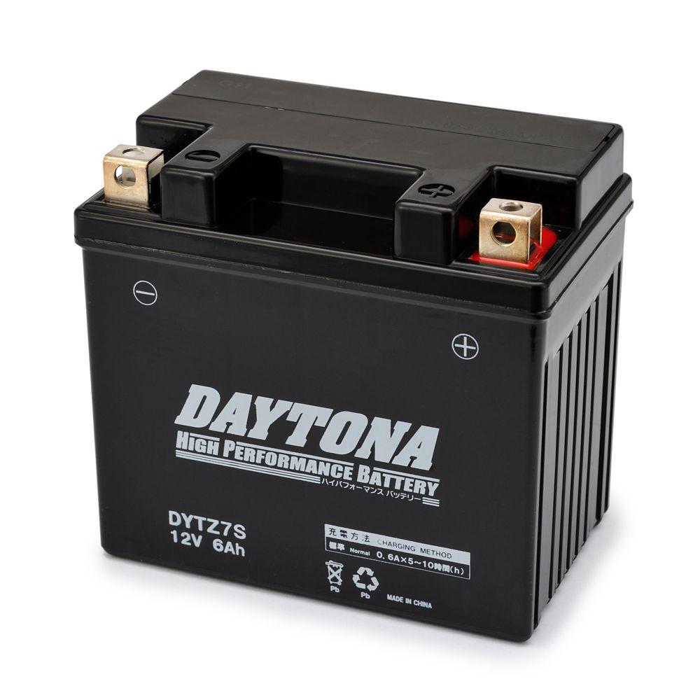 DAYTONAデイトナ/ハイパフォーマンスバッテリー 液入り充電済 【DYTZ7S】