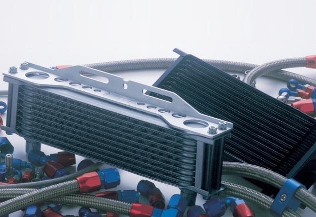 機油冷卻器(油冷排)全組改裝套件 [節溫器型式 、黑色油管]