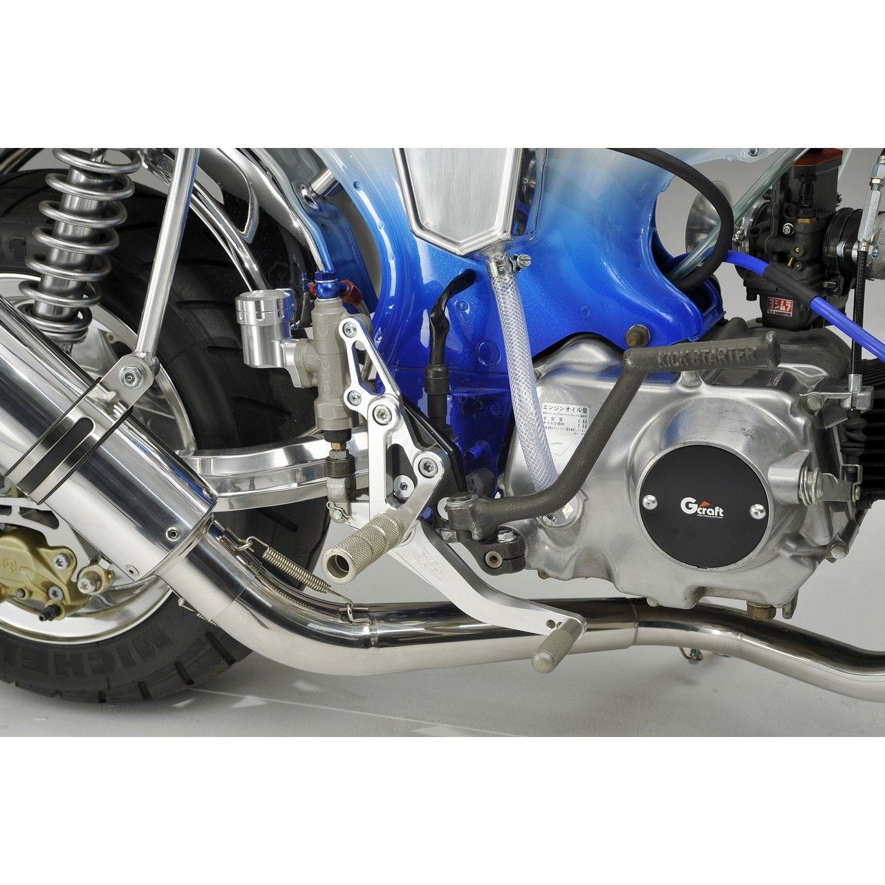 【G-Craft】DAX專用腳踏後移套件碟式煞車專用 - 「Webike-摩托百貨」