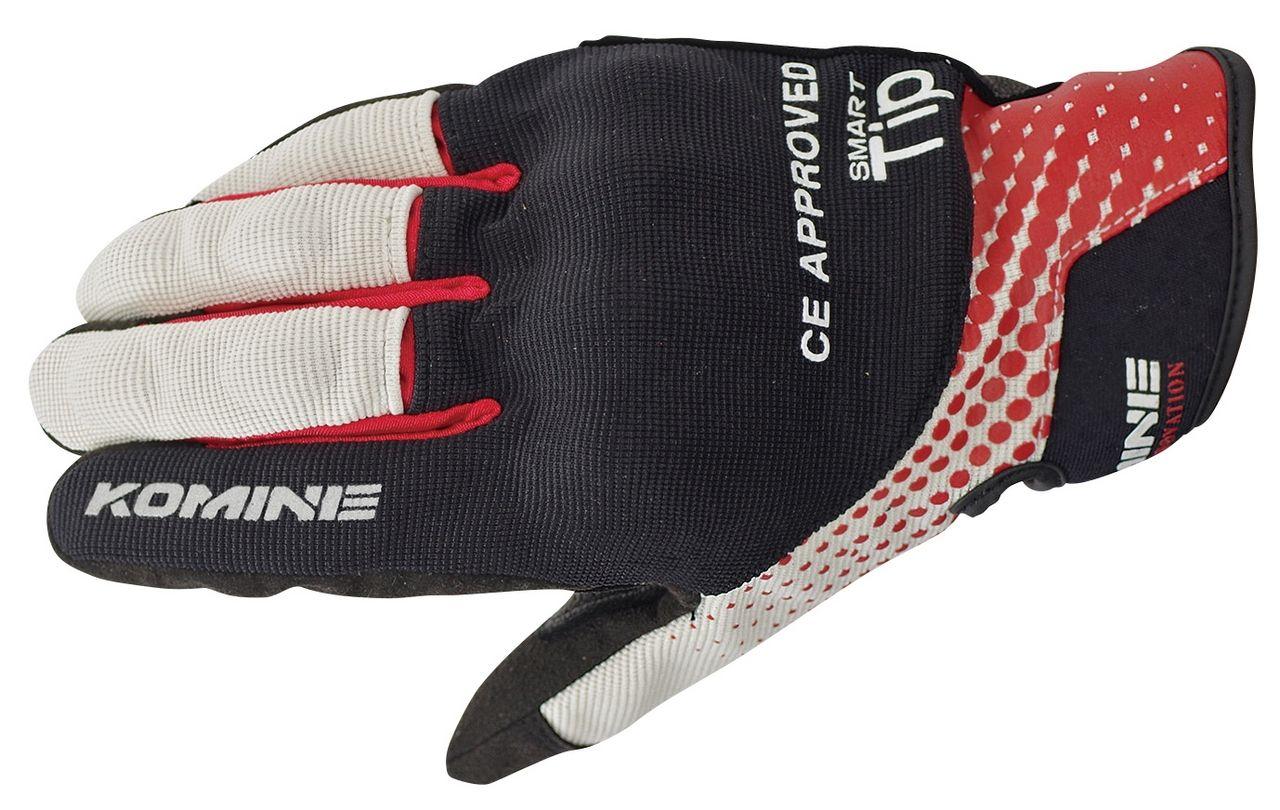 KOMINE GK-176 CE Protect Mesh Gloves NORMAN
