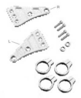 機械切削加工製造 頭燈 支架