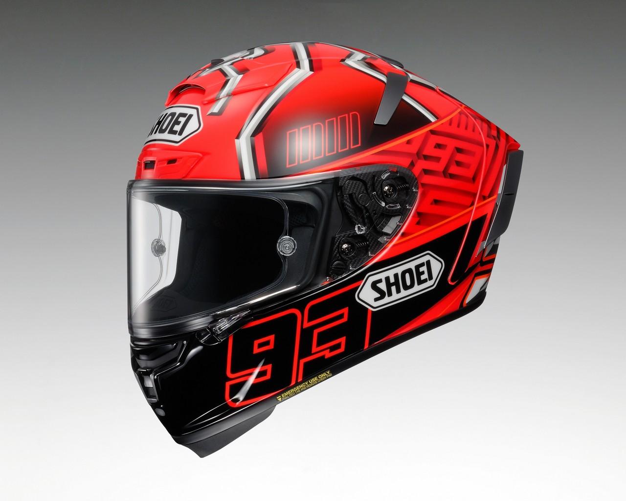 【SHOEI】X-14 ( X-FOURTEEN) 全罩安全帽 MARQUEZ 4 彩繪 - 「Webike-摩托百貨」