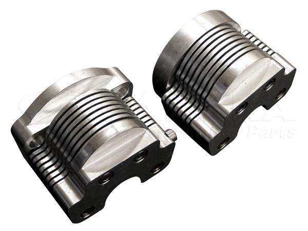 【田中商會】12V用 鋁合金鰭片式機油冷卻器與凸輪軸蓋7排 (左右64mm) - 「Webike-摩托百貨」