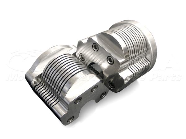 12V用 鋁合金鰭片式機油冷卻器與凸輪軸蓋10排 (左右75mm)