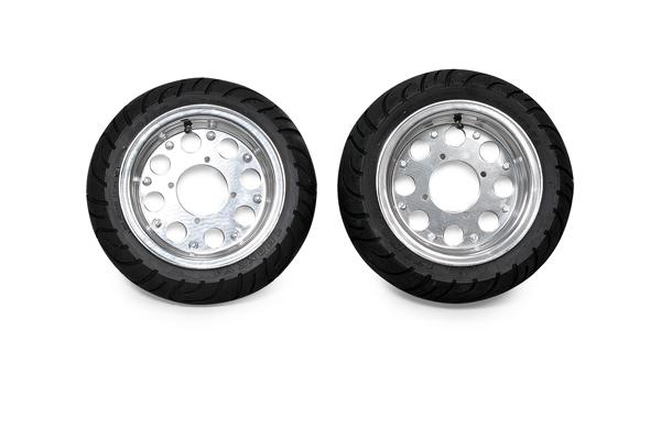 鋁合金輪框・輪胎組 組裝完成組8吋