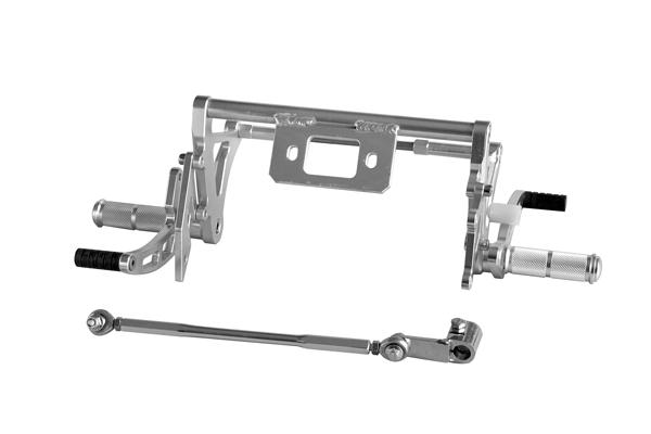 鋁合金製CNC加工 腳踏後移套件