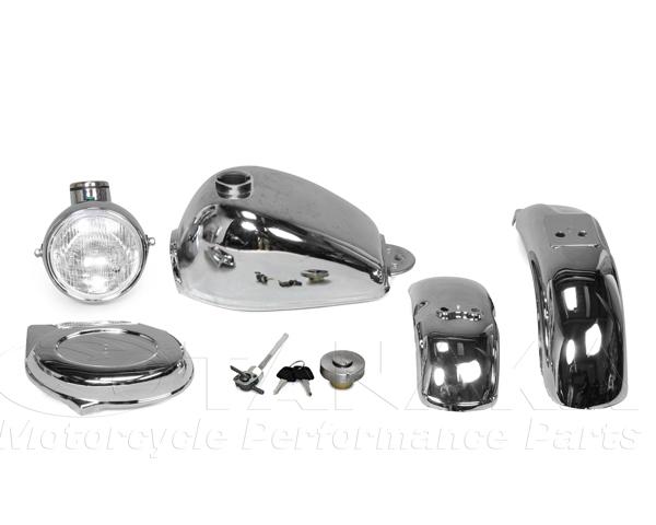 電鍍油箱 電鍍外觀套件 5件式