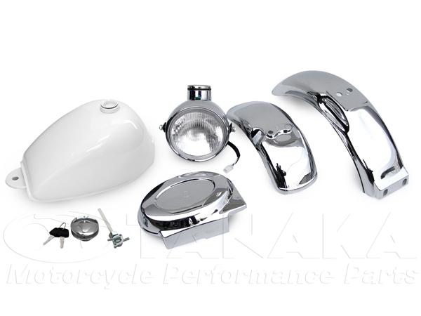 白色油箱 外觀套件 5件式