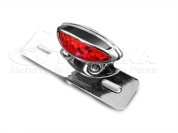 LED尾燈 附牌照架 (電鍍)