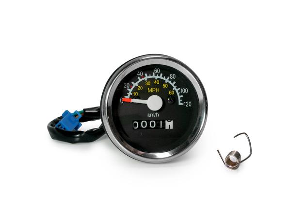 原廠型儀錶 120km