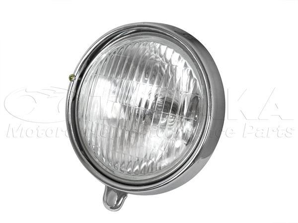 【田中商會】4L Type 鋼製頭燈燈殼&外框/電鍍 - 「Webike-摩托百貨」