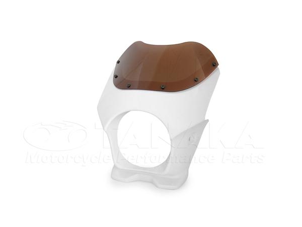 頭燈整流罩 (白色)