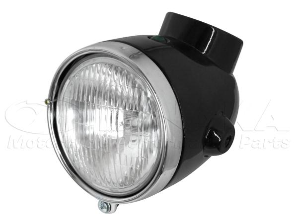 4L Type 頭燈整組/純黑色