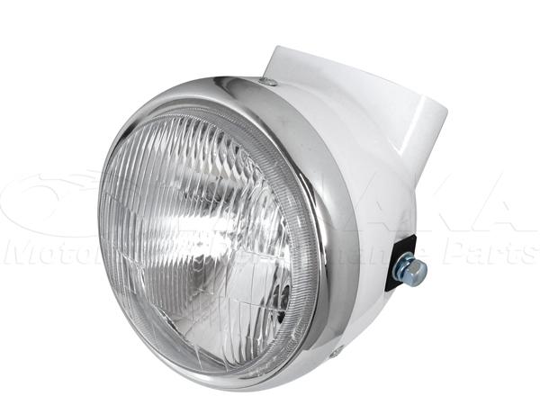 頭燈&頭燈外殼 (白色)