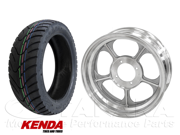 MONKEY・GORILLA用 12吋 鋁合金鑄造輪框・KENDA輪胎組