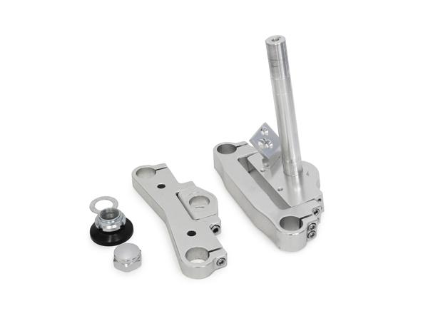 鋁合金製 Φ26前叉內管用 角度調整式三角台