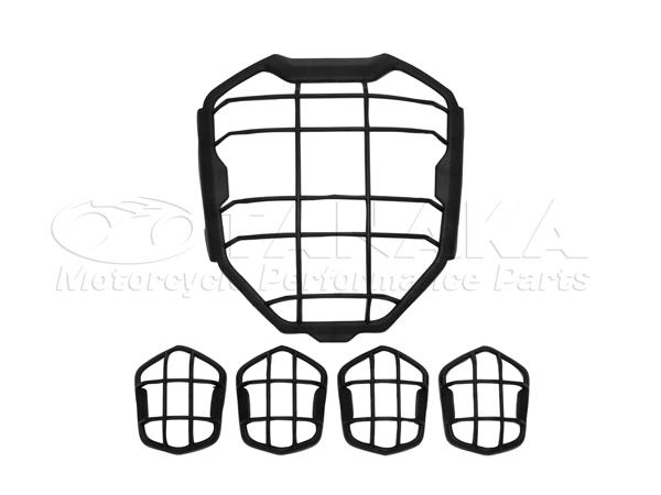 頭燈護罩&方向燈護罩組