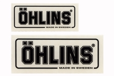 【OHLINS】透明貼紙 - 「Webike-摩托百貨」