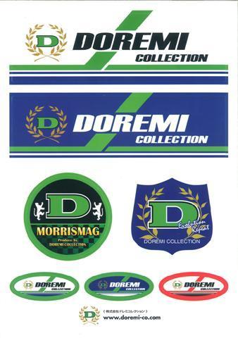 DOREMI COLLECTION Sticker Sheet 7