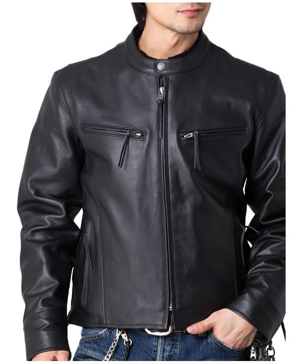 皮革騎士夾克