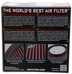 【K&N】通用型空氣濾芯 (圓柱形) - 「Webike-摩托百貨」