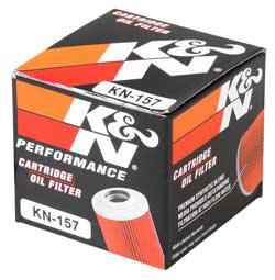 【K&N】KN-157 機油濾芯 - 「Webike-摩托百貨」