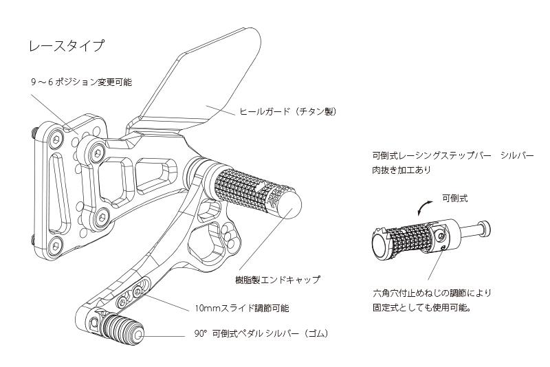 【Valter Moto Components】腳踏後移套件 Type 3.5 - 「Webike-摩托百貨」