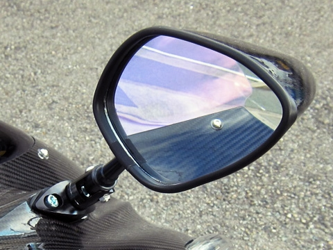 Type6可調式碳纖維後視鏡組(整流罩款式專用)