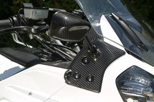 【A-TECH】Type5可調式碳纖維後視鏡組(整流罩款式專用) - 「Webike-摩托百貨」