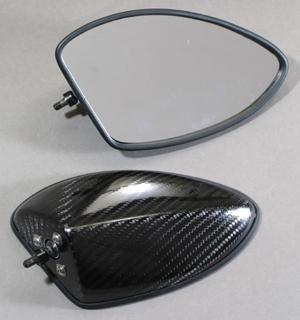 Type5可調式碳纖維後視鏡組(整流罩款式專用)