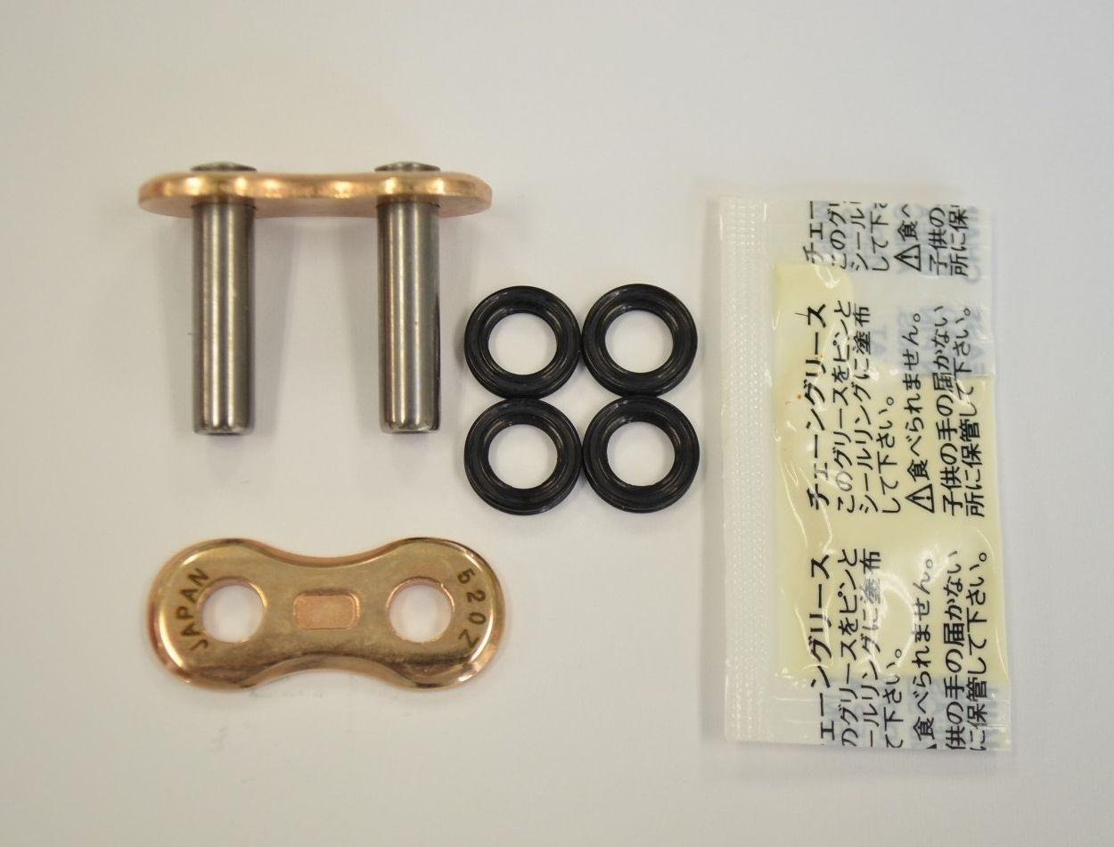 【EK CHAIN】3D 鏈條 520Z(GP/GP) 金色 - 「Webike-摩托百貨」