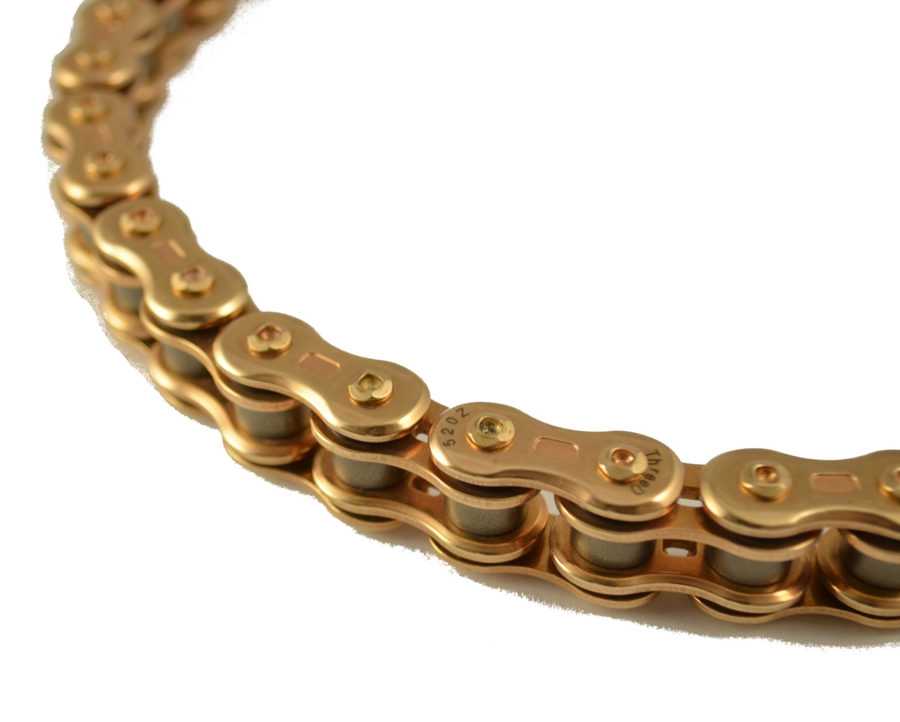 3D 鏈條 520Z(GP/GP) 金色