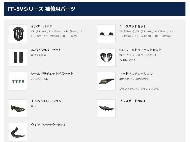 【OGK KABUTO】FF-5V 安全帽 下巴透氣孔套件 - 「Webike-摩托百貨」
