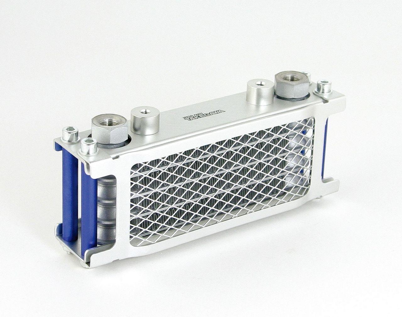 Compact 4排式機油冷卻器(銀色散熱核心)