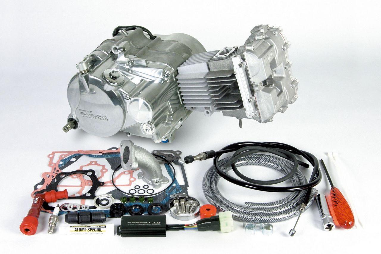 DOHC4V+D 完整引擎(Secondary式腳踩啟動系統)(標準仕様)