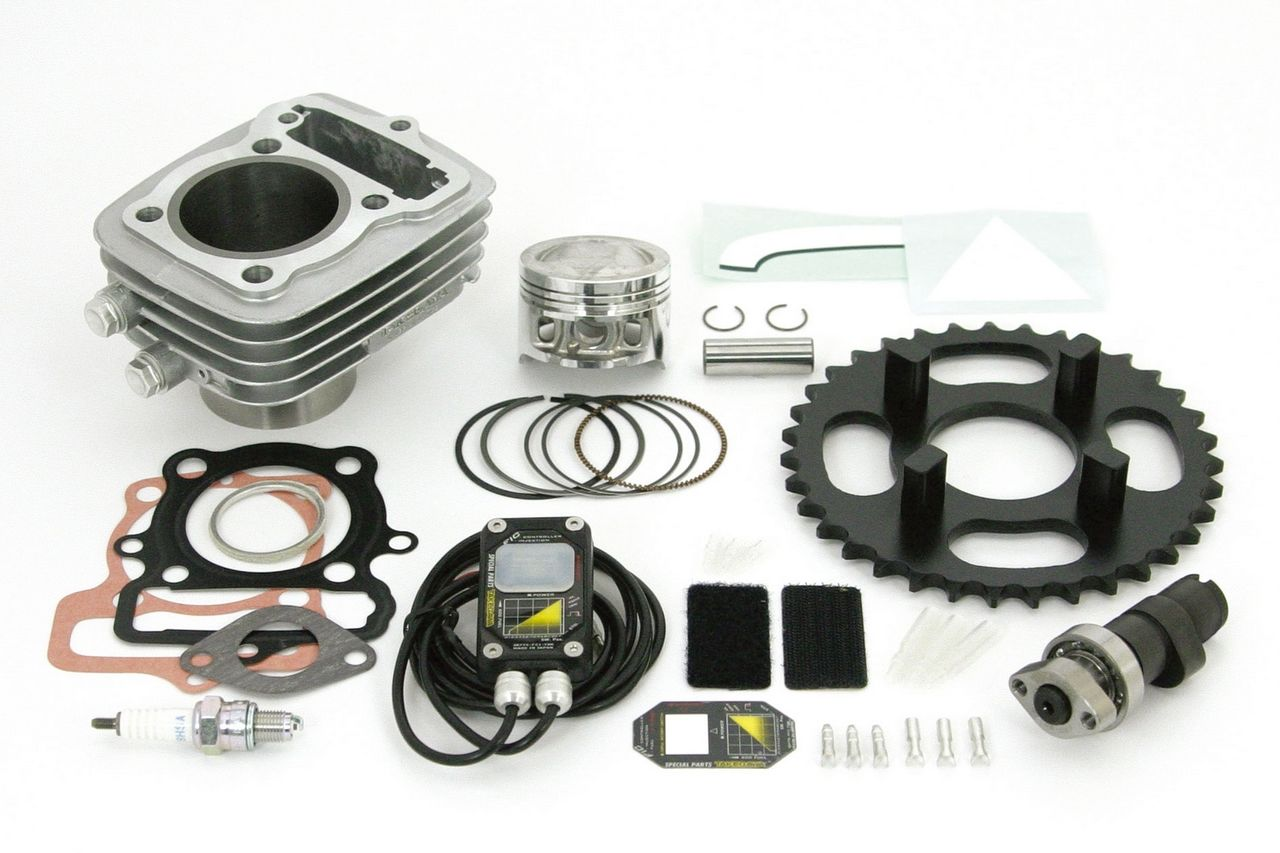 【SP武川】Hyper S Stage 加大缸徑套件 80cc(鋁合金製鐵Steve 汽缸) - 「Webike-摩托百貨」