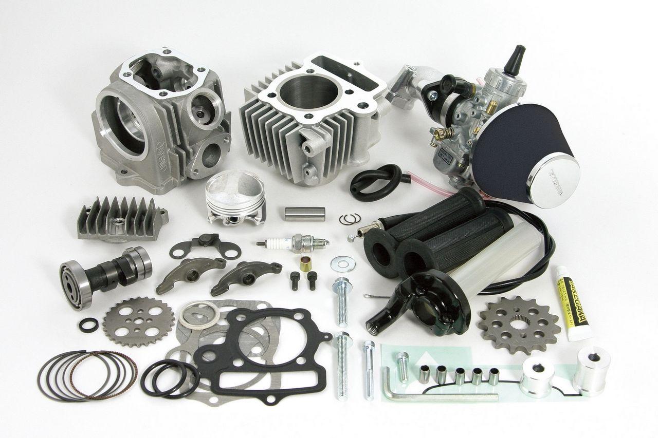 R Stage+D全組套件 88cc(鋁合金製鐵缸套)