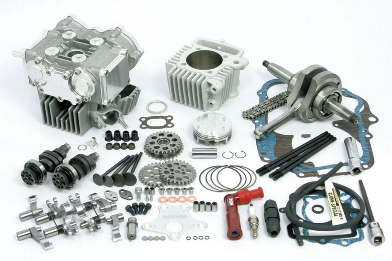 Desmodromic 4V SCUT100cc雙凸輪軸加大缸徑短行程套件
