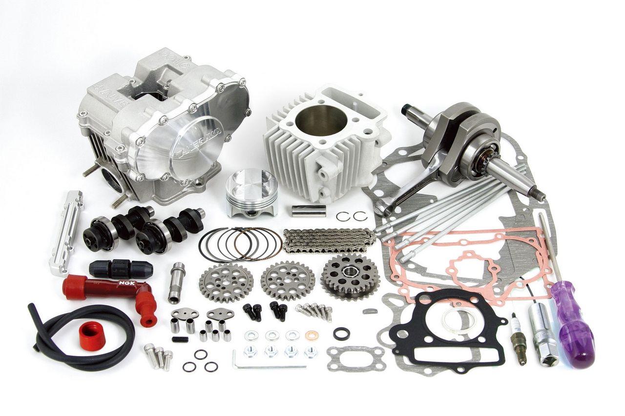 DOHC Head 124cc缸徑行程加大套件(12V車用)