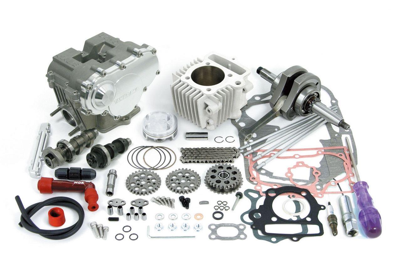 DOHC4V+D SCUT125cc缸徑和行程加大套件